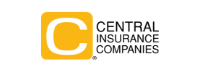 yellow and black central insurance logo